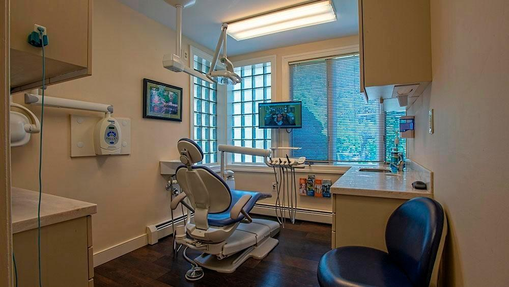 comfortable dental clinic in randolph dental associates